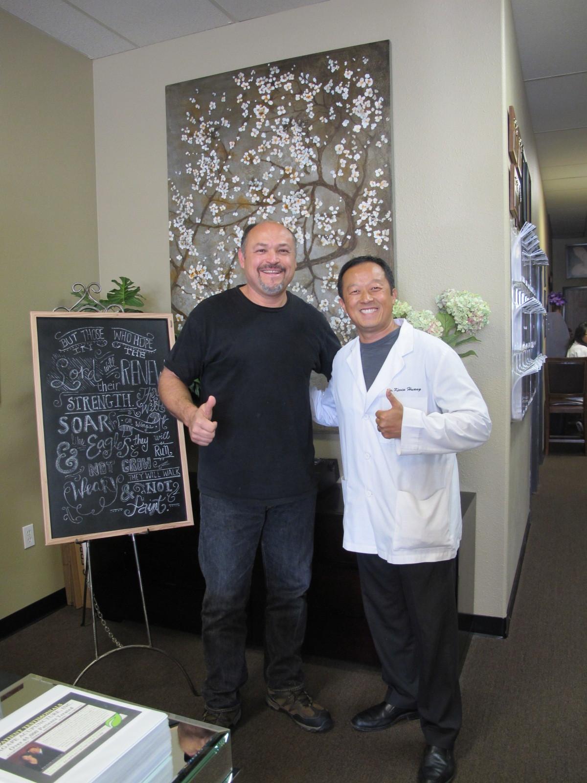 SCIATIC NERVE PAIN   BACK PAIN   LOWER BACK DEGENERATION   Dr. Kevin Huang put me back into business!