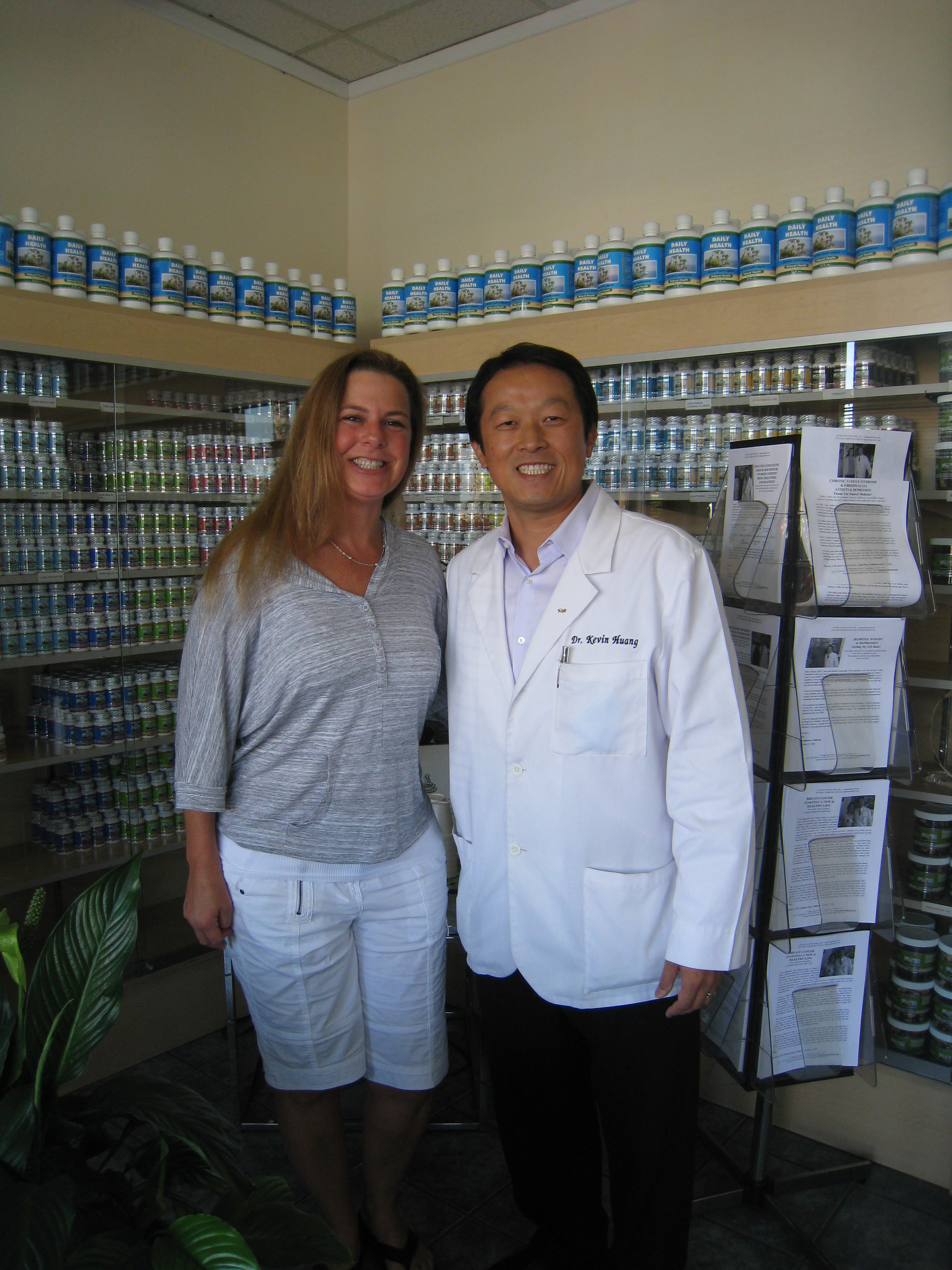 """LUPUS PSORIATIC ARTHRITIS SEVERE PAIN  Heaven Sent  """"I have been blessed. Dr. Huang gave me hope and I've been given a second chance. Things are back to how they should be. I'm heading in the right direction. Now I want to socialize again. This place was heaven sent - best 20 minutes of my day."""""""