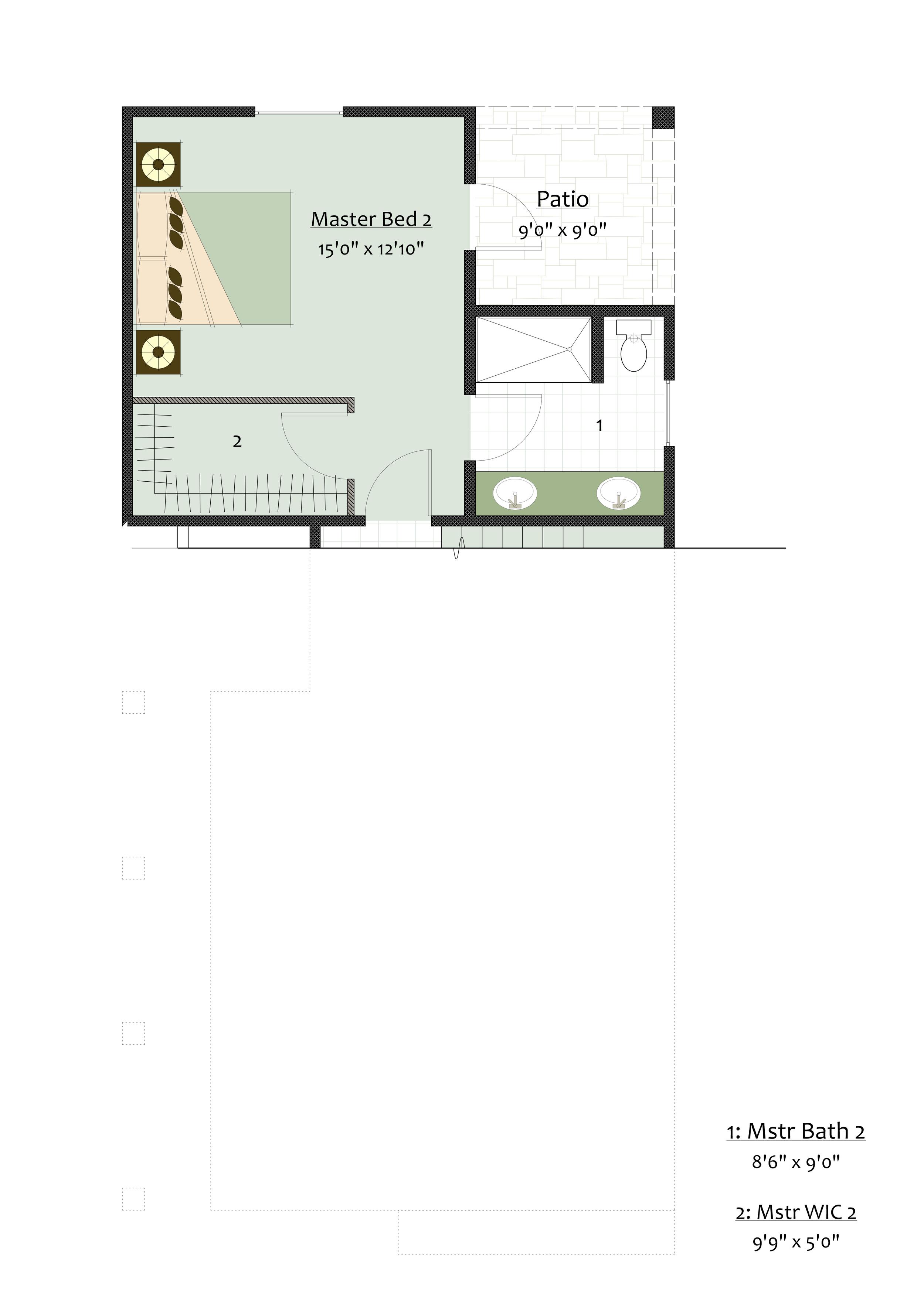 Level 1 Master Suite Option