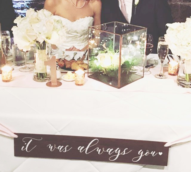 Grey and Blush Ombré Wedding Invitations