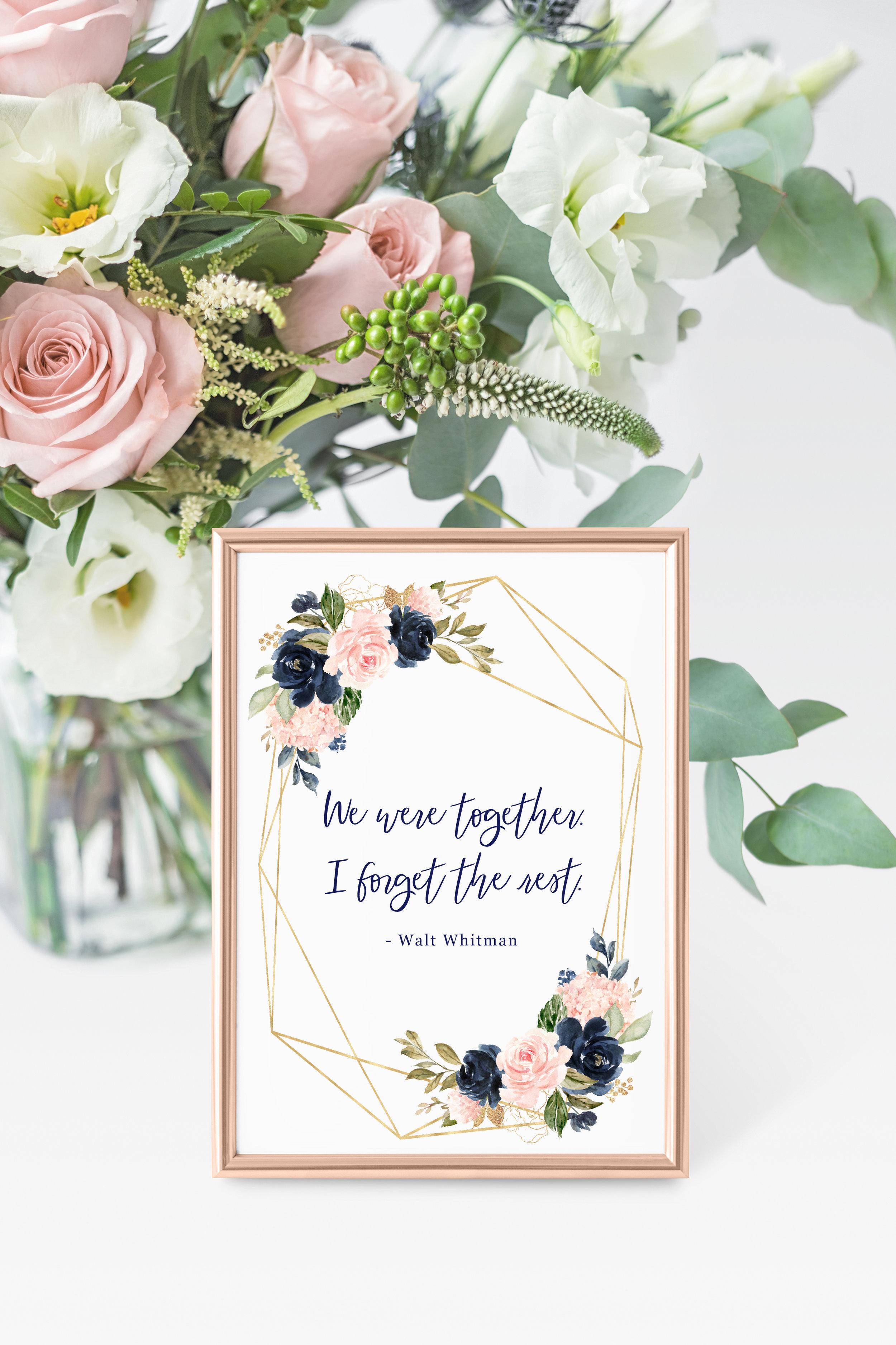 Wedding Literature Love Quotes