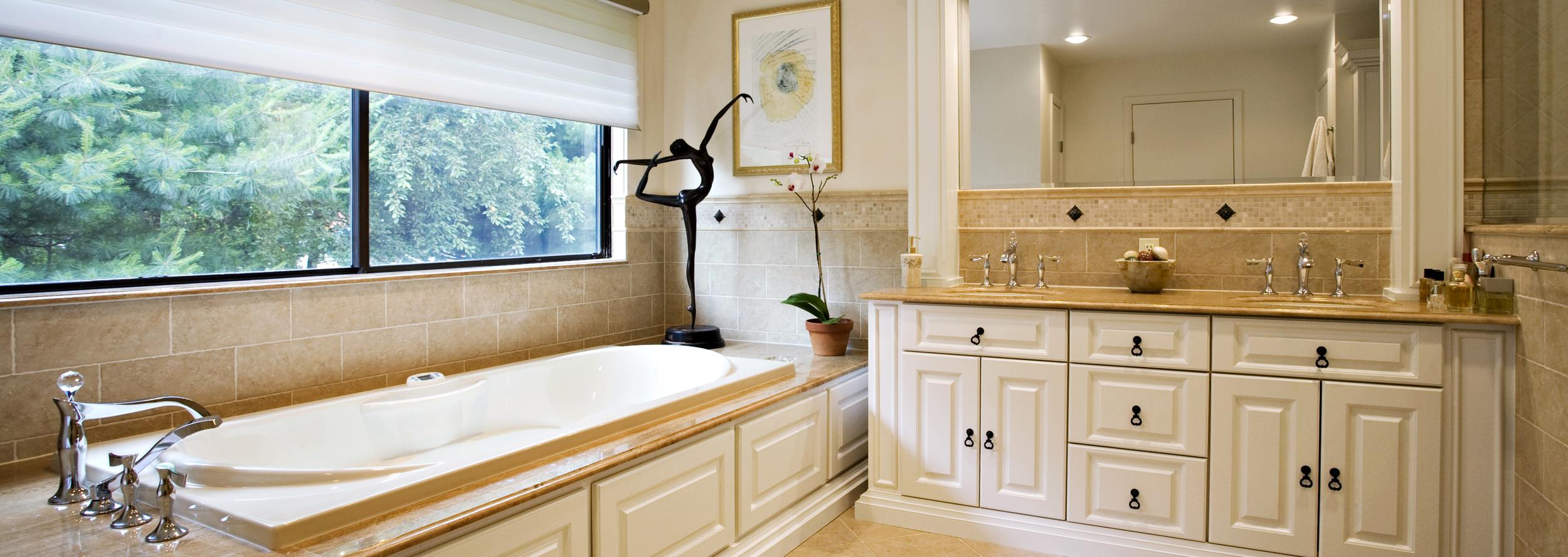 Elegant Traditional Bathroom