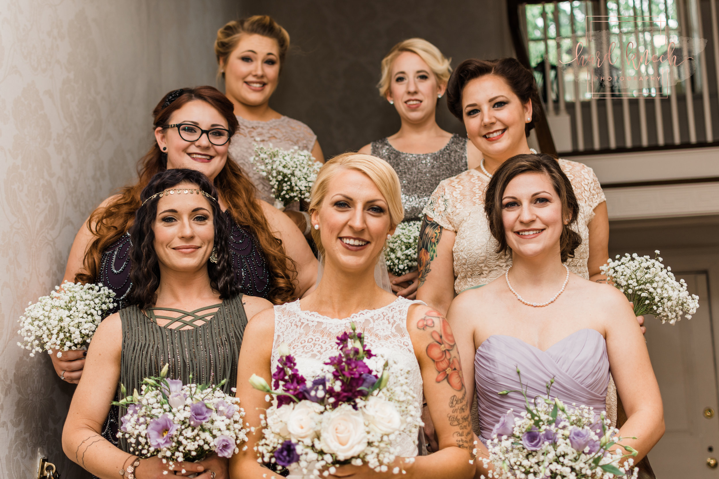 Jesi & her bridal party