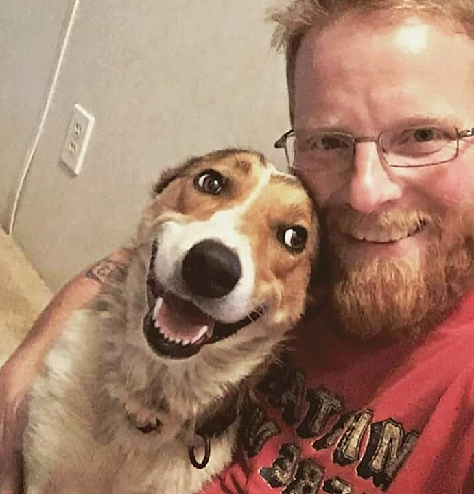 Brad Jaide and Bella - Brad lives in Missoula, though he is originally from Murdo, South Dakota. What's a book you've read more than once, and why?