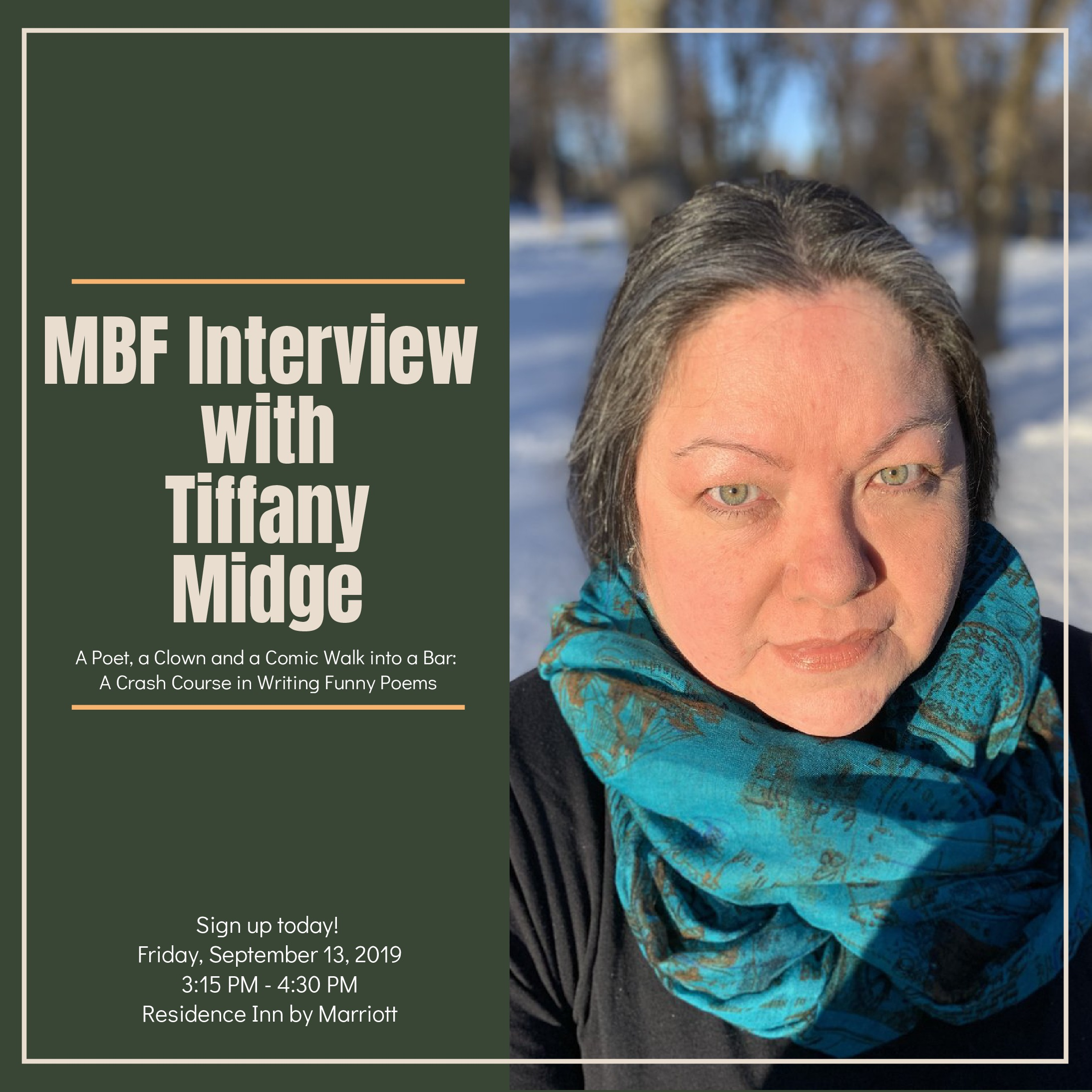 Tiffany Midge teaches multi-genre humor and satire writing (poetry and prose) that elevates awareness of social justice issues with regards to race, de-colonialism, activism, and identity.