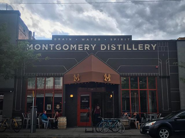 Wowee the festival is going great and we couldn't be happier! Walking past @montgomerydistillery I wanted to showcase its beautiful new storefront. Events are continual through Sunday eve, festival button gets you a $4 Moscow Mule. Check the schedule on our website, buy a button at any event. 😁 #montanabookfestival