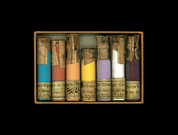Antique Pigment Vials