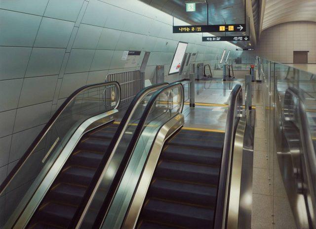 Escalator #23 - Express Bus Terminal