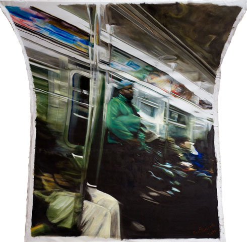Green Jacket (Speed Inside No. 2)