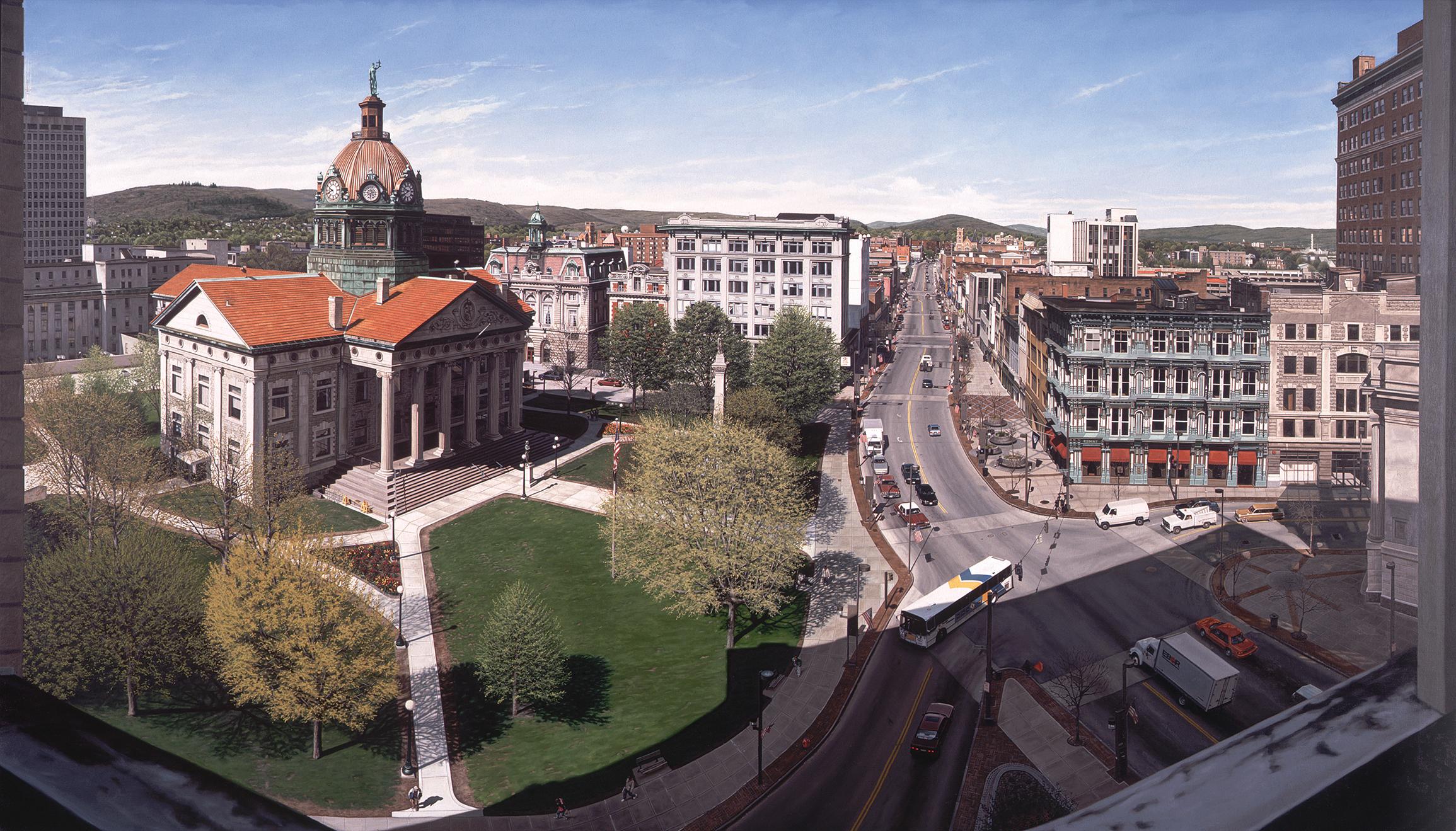 View of Binghamton