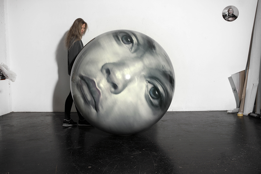 Parmigianino Sphere 27