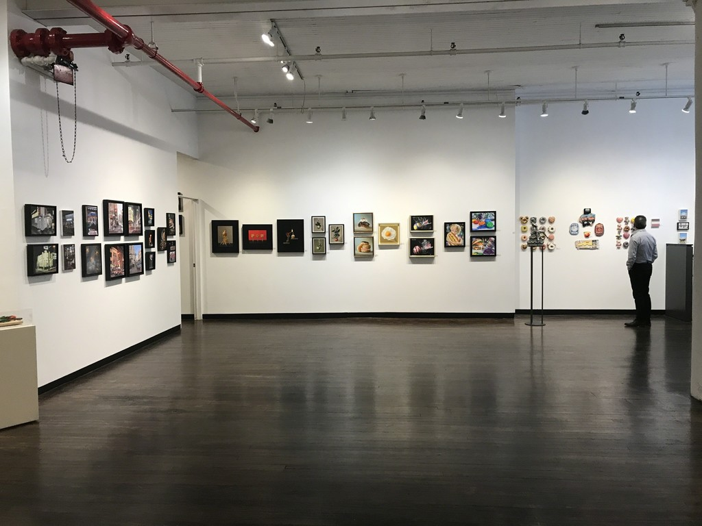 "Exhibition shot of ""Food For Thought"" at Louis K. Meisel Gallery"