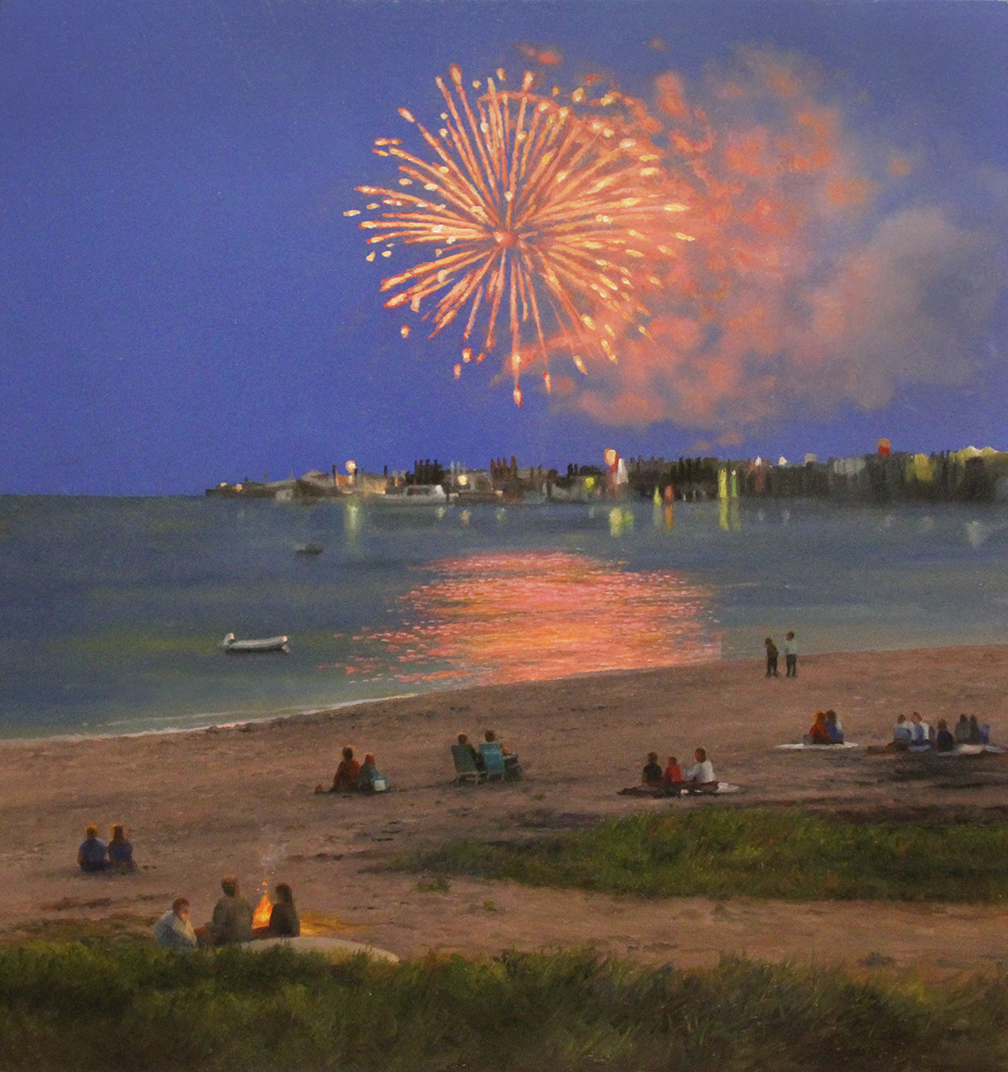 Fireworks in Provincetown