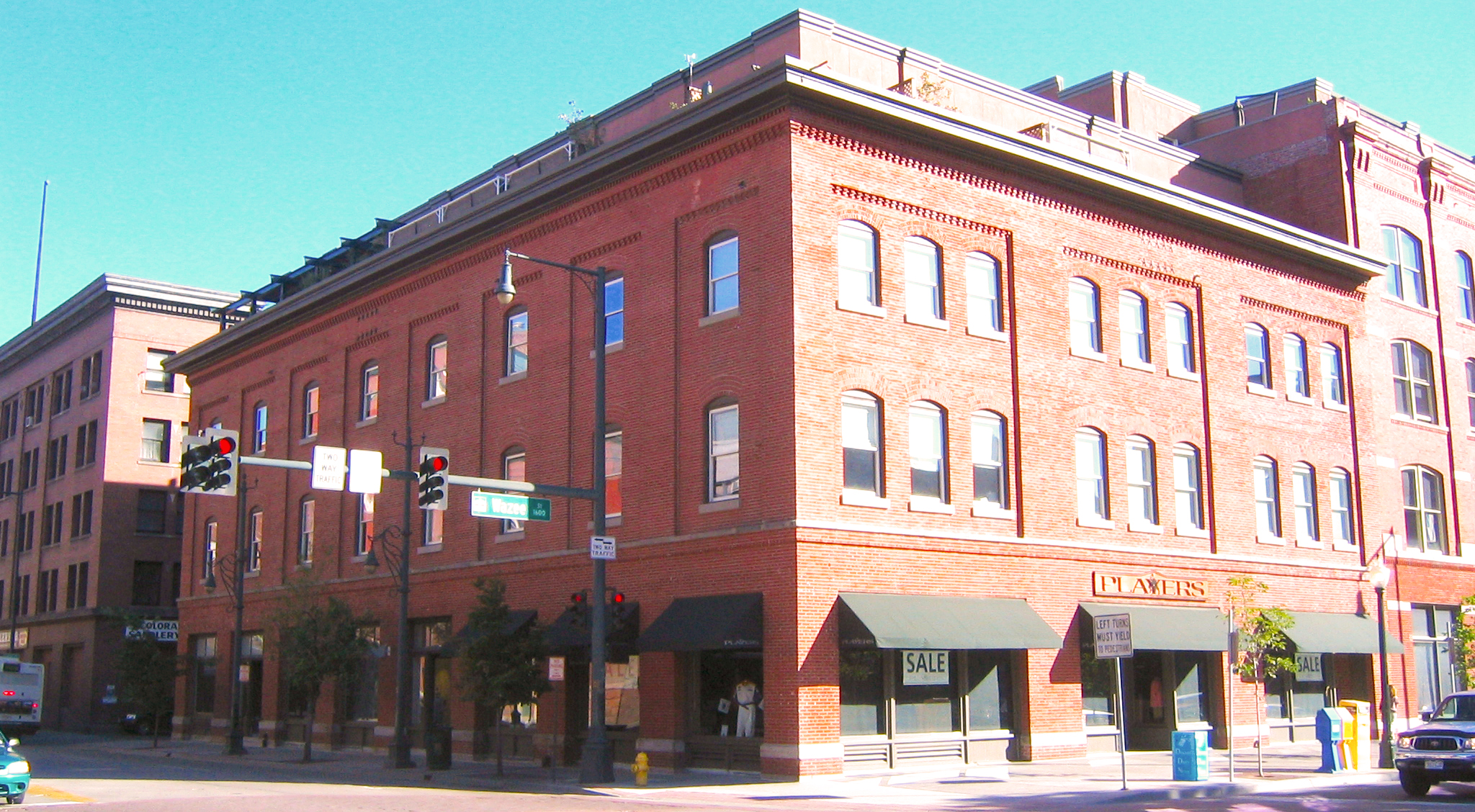 Office entrance is located to the left of Scream Agency and across from the Wazee Supper Club on 15th Street.
