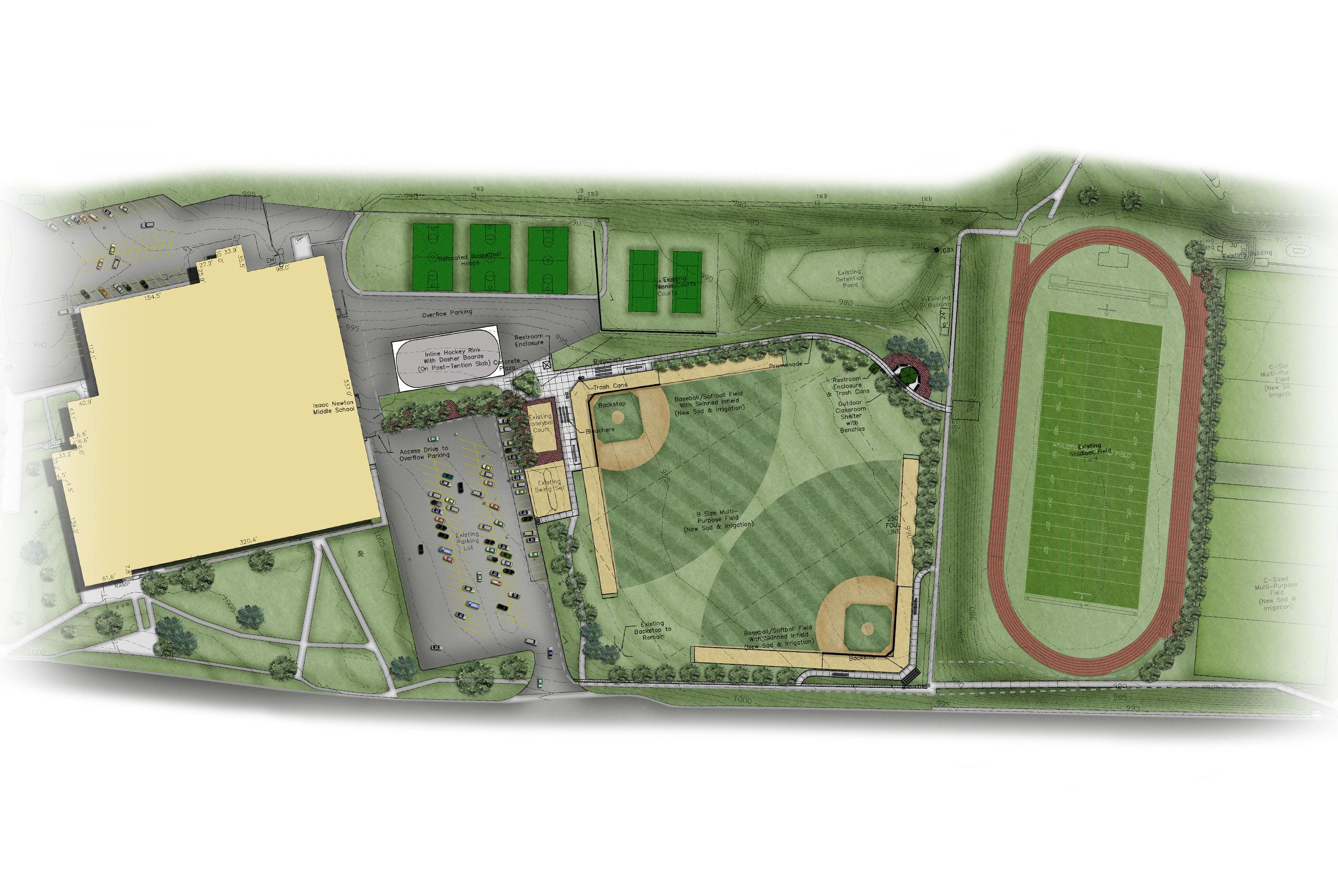 Newton Middle School - overall plan.jpg