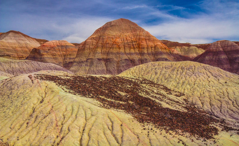 Rock Fall, Blue Mesa, Petrified Forest National Park, IMG_139622.jpg