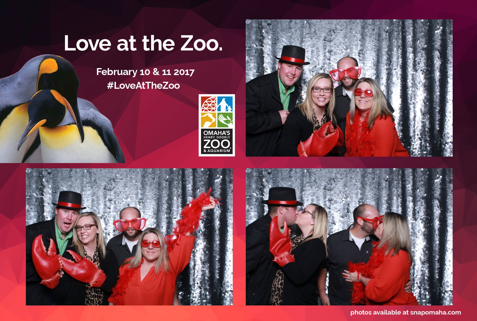 omaha henry doorly zoo-omaha-nebraska-event-snap omaha photo booth