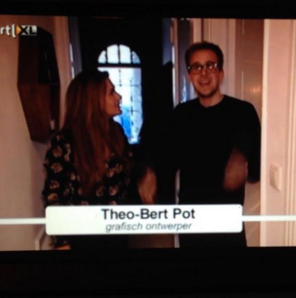 THEO-BERT POT INTERIOR BLOGGER RTL 4 EIGEN HUIS & TUIN BINNENKIJKER INSPRIATIE