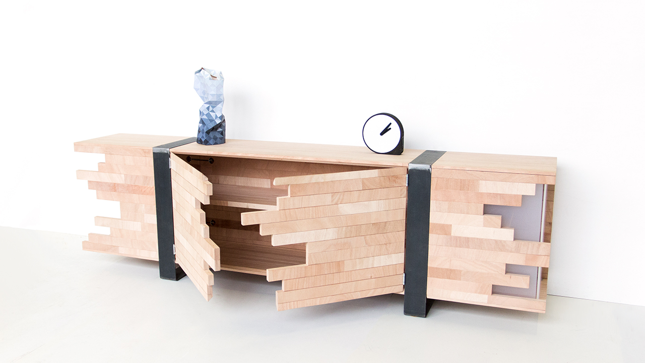 Kast design by Wisse Trooster
