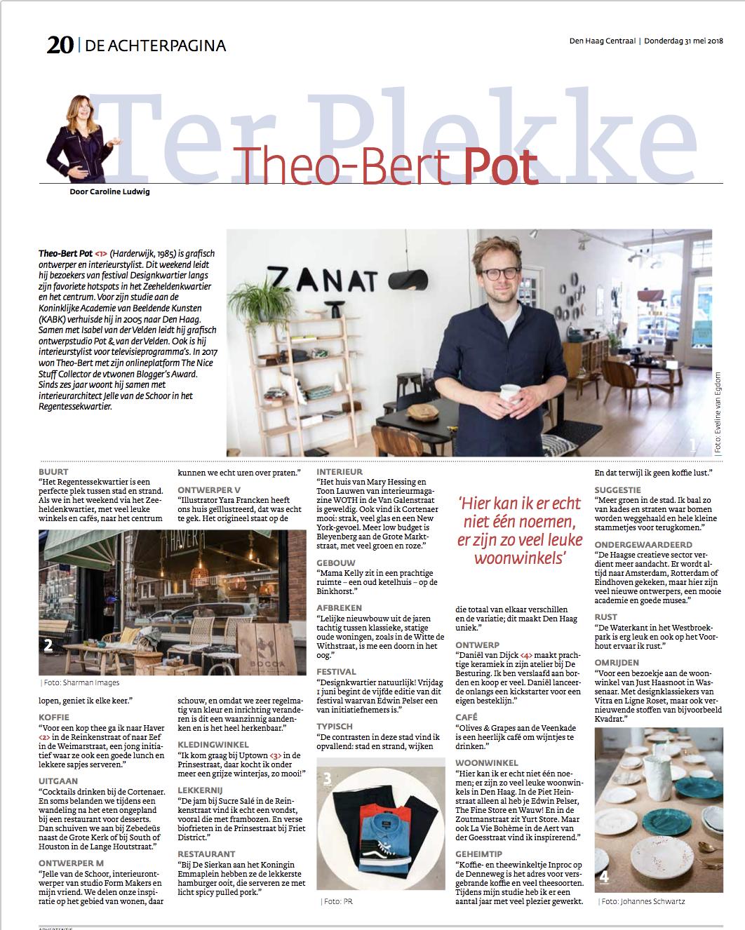 krant den haag centraal interview theo-bert pot the nice stuff collector den haag.png