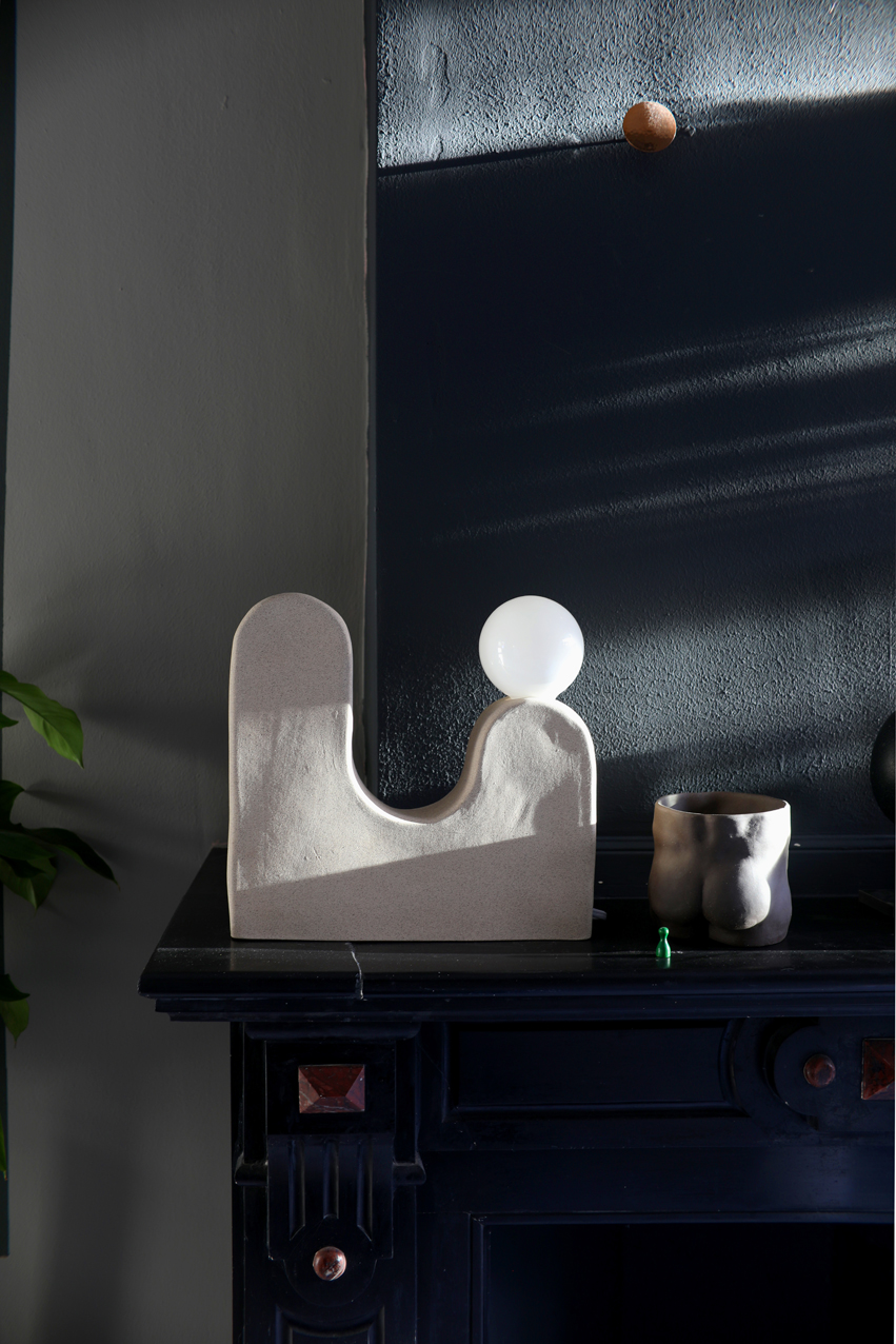 STYLING THE NICE STUFF COLLECTOR LAMP ROLLING HILLS TABLE LAMP 2.JPG