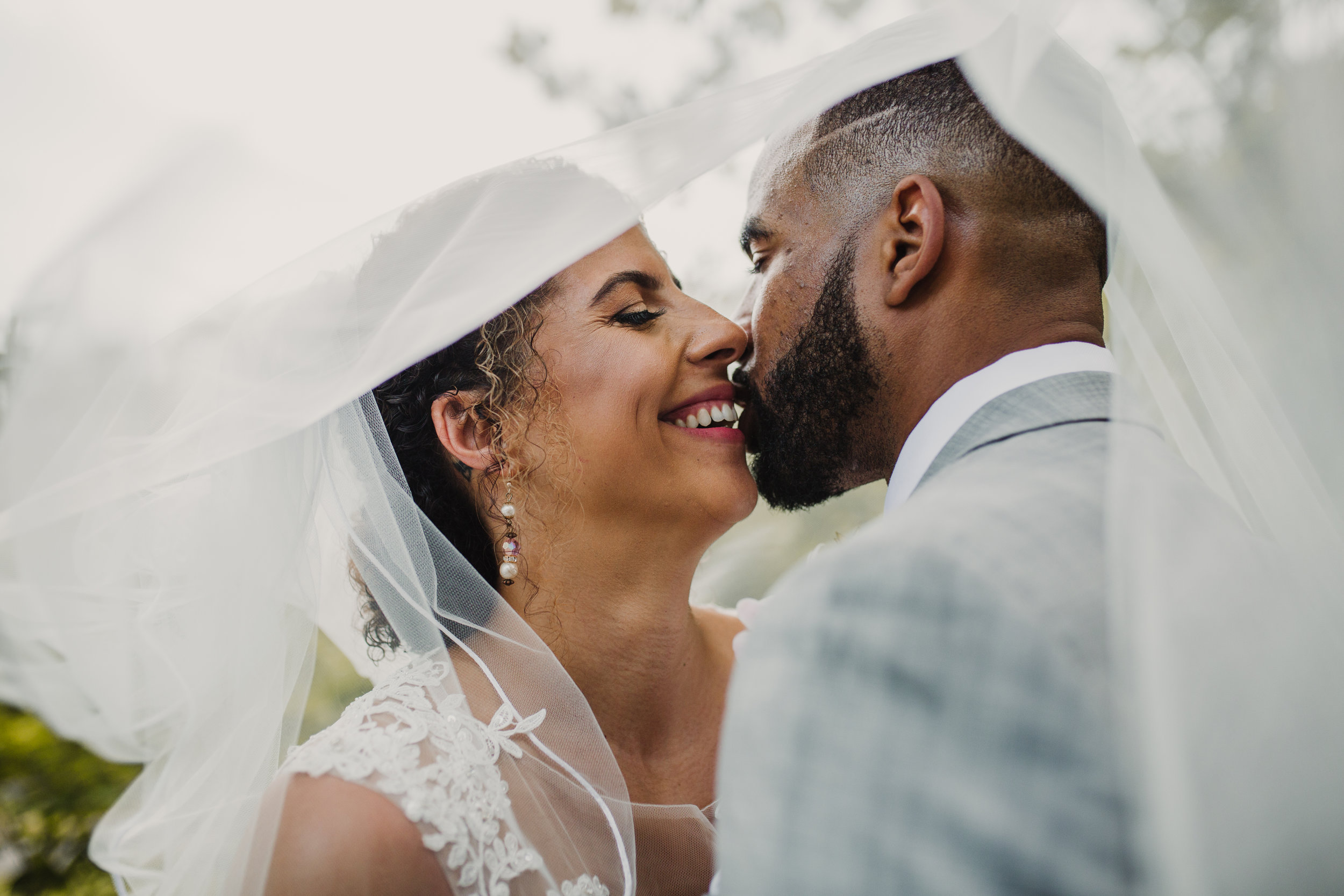 Kendra & Cameron - Their first dance was a compilation of three songs from oldies to Drake, their custom cake toppers were repping their favorite teams, and Kendra & Cameron didn't let the Virginia heat stop them from taking some fire portraits. Check out all the goodness from this spring wedding.
