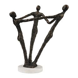 Holding Hands Bronze