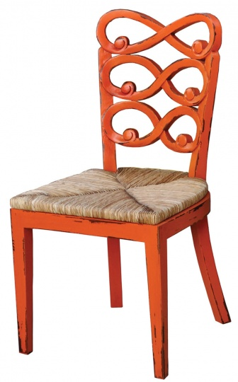 Dining Chair with Rush Seat