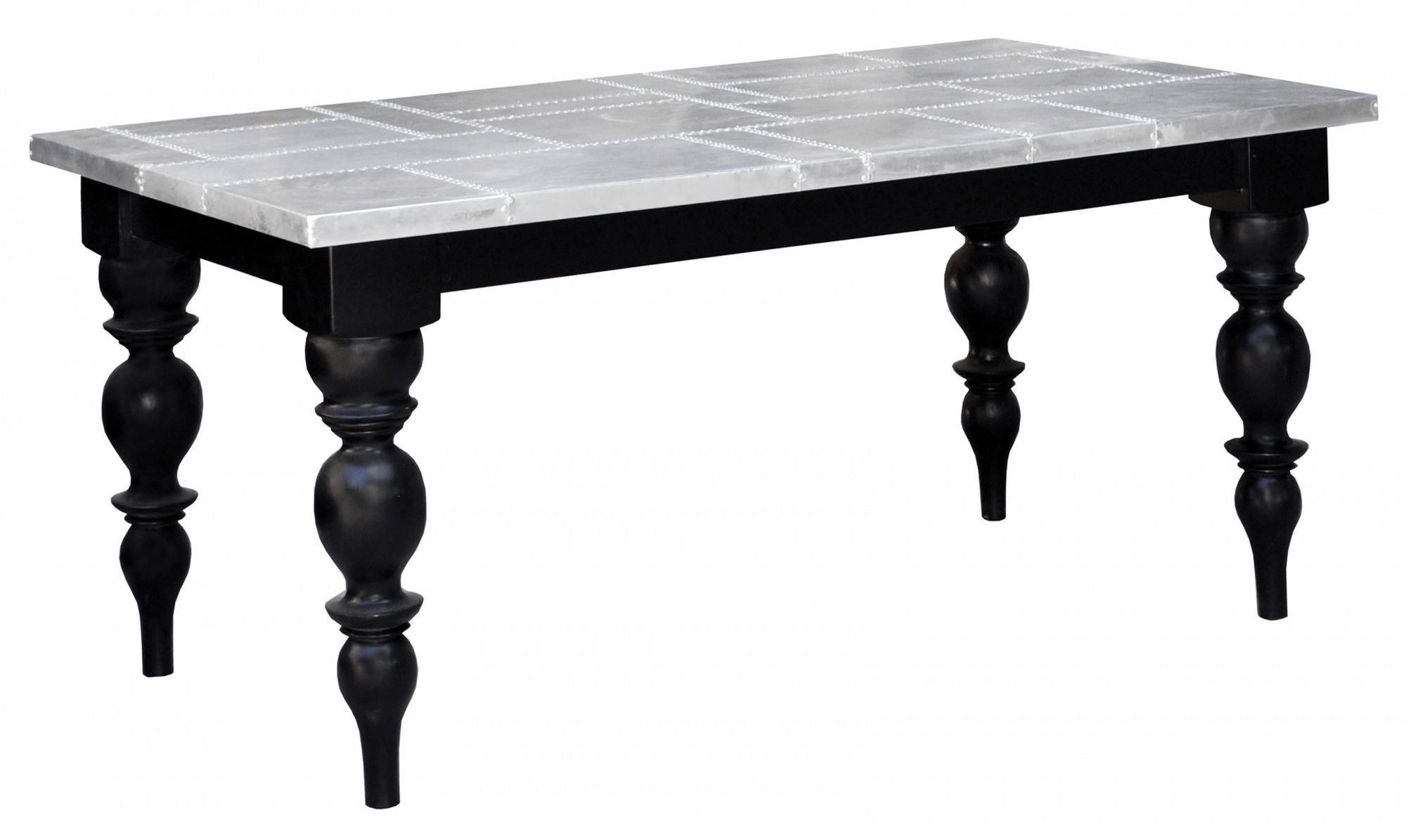 Lewis Tin Top Dining Table