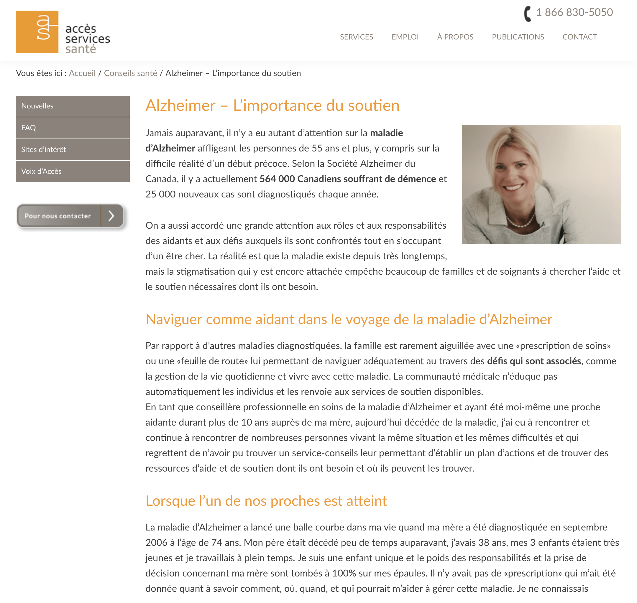 Accès Services Santé - October 2017