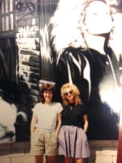 with Carole King at Tower Records