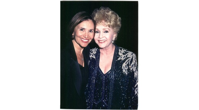 Debbie Reynolds and me in Vegas