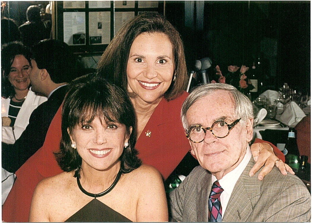 "Marlo Thomas and Dominick Dunne hosted my book party At Elaine's in NY for ""Love, Sex, and Murder."""