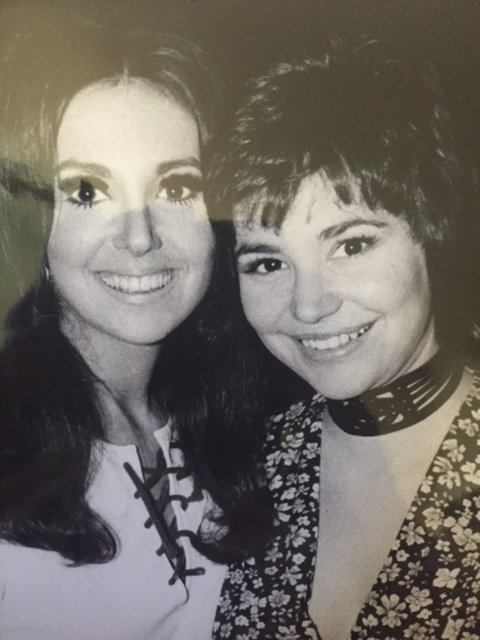 Marlo Thomas and me in the Dark Ages