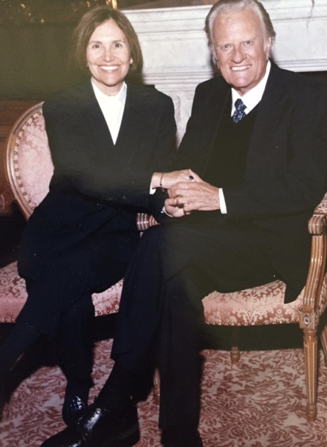 A great honor--alone time with the Rev.Billy Graham