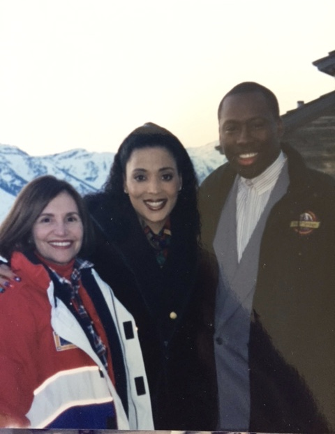 Ski trip with Olympian Flo-Jo and her husband. What a dream. She dies weeks later. What a nightmare