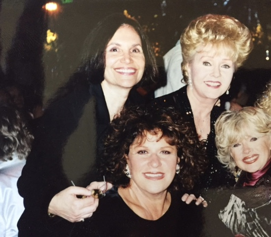 Nothing but trouble---Me, Debbie, Lainie, and Connie Stevens
