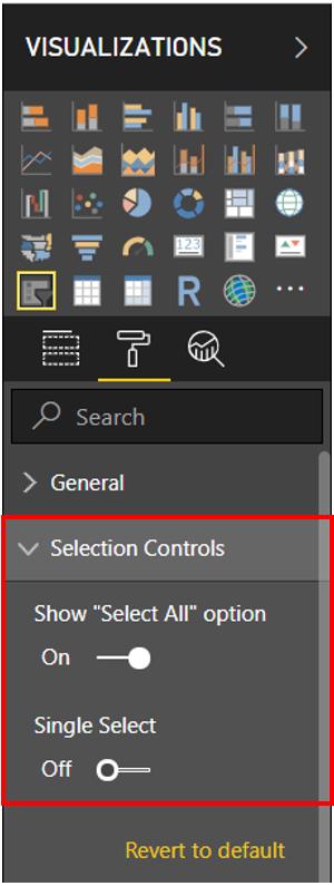 ADding selection controls like a boss