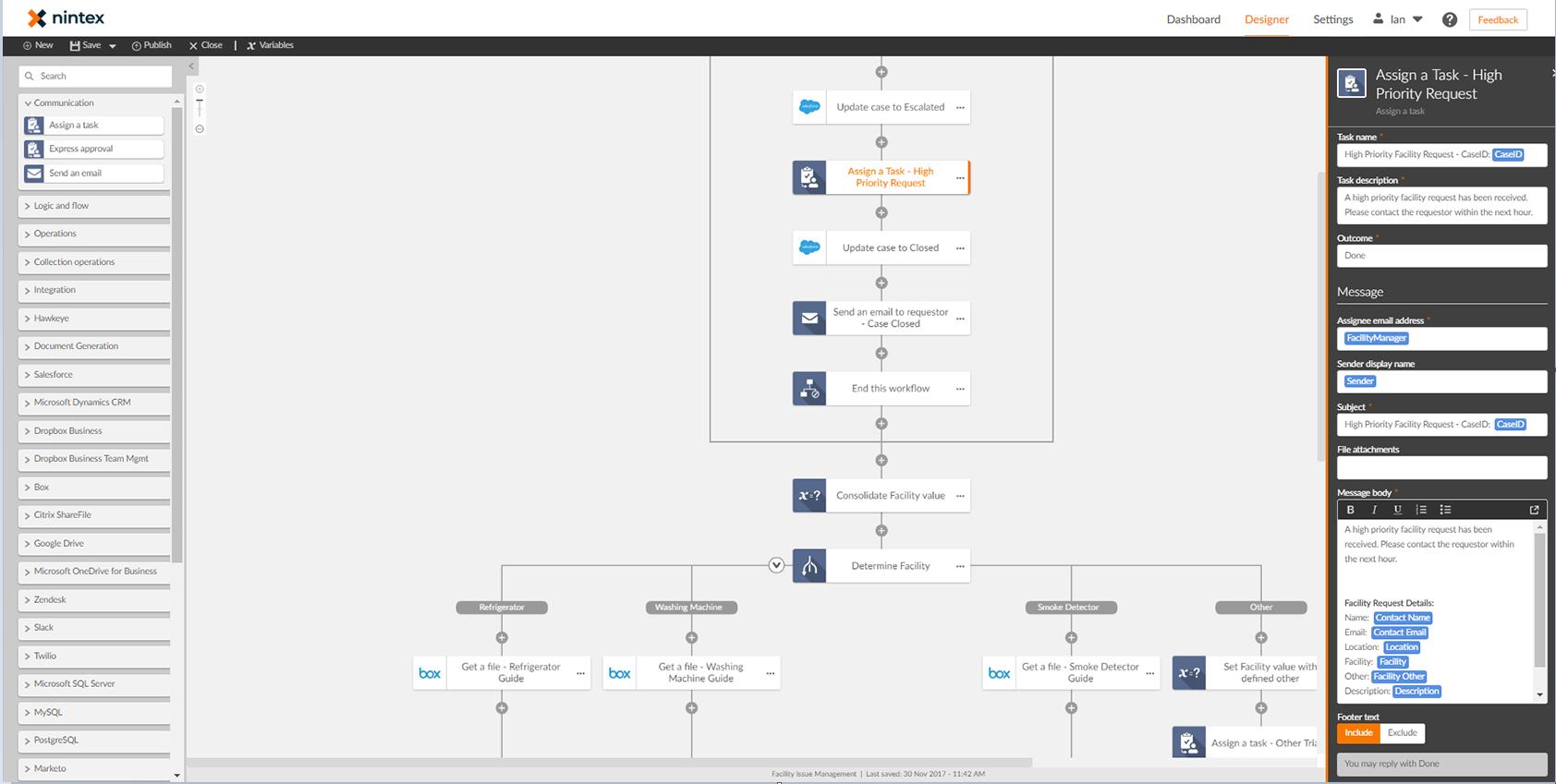 Nintext workflow
