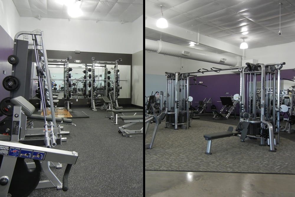 Anytime Fitness Greenville TX Interior