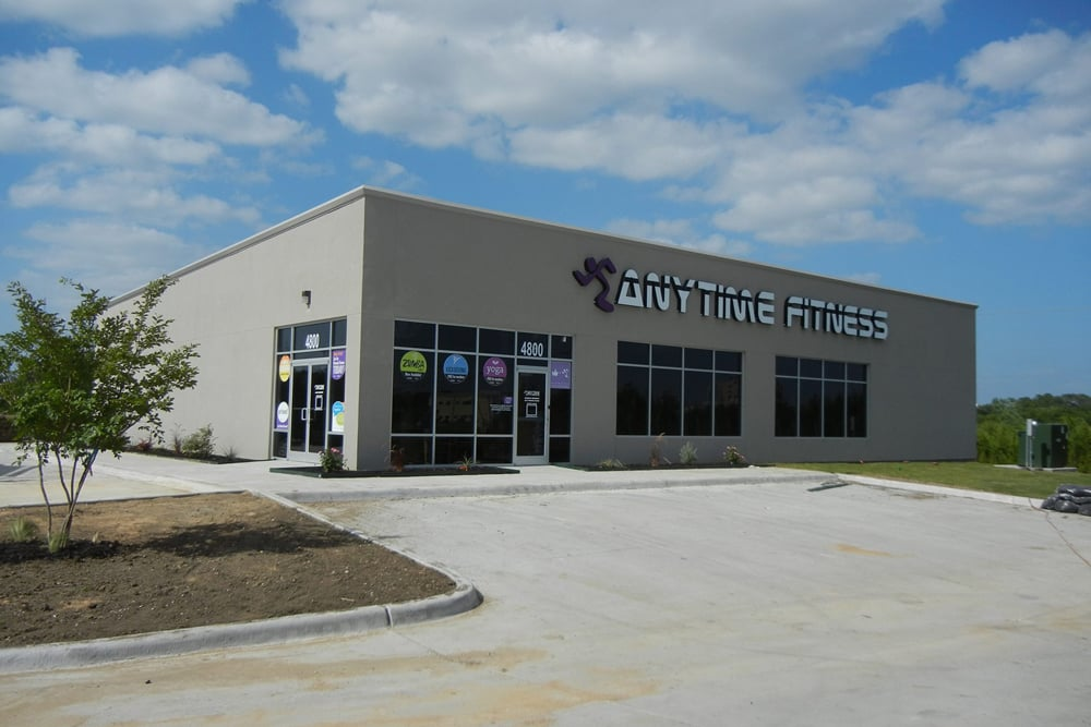 NOW OPEN!! - Wilkus Architects works with Anytime Fitness to launch it's latest location in Greenville, TX.