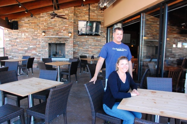 NOW OPEN!! - Lakeville area residents are in for a treat when they visit the newly expanded Carbones Restaurant, located at 7670 160th St. W.