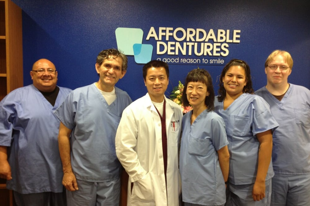 NOW OPEN!! - Glenn L. Vo, DDS, announces the opening of his Affordable Dentures® dental practice at 2111 N. Collins Street, Suite 203, in the Seville Commons Shopping Center in Arlington.
