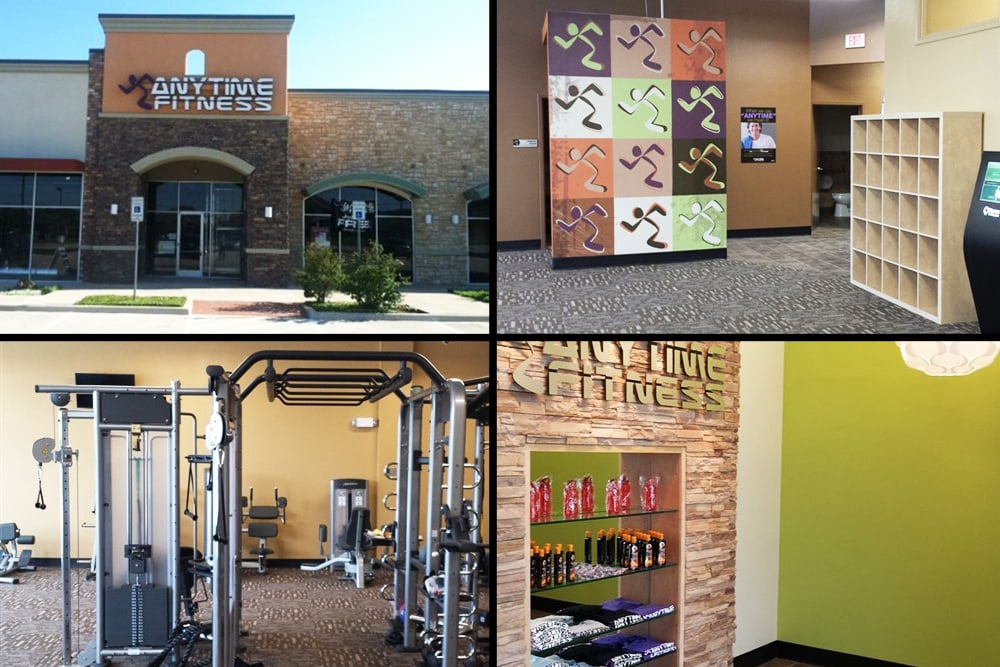 NOW OPEN!! - Wilkus Architects works with Anytime Fitness to launch it's latest club location in Haltom City, TX.
