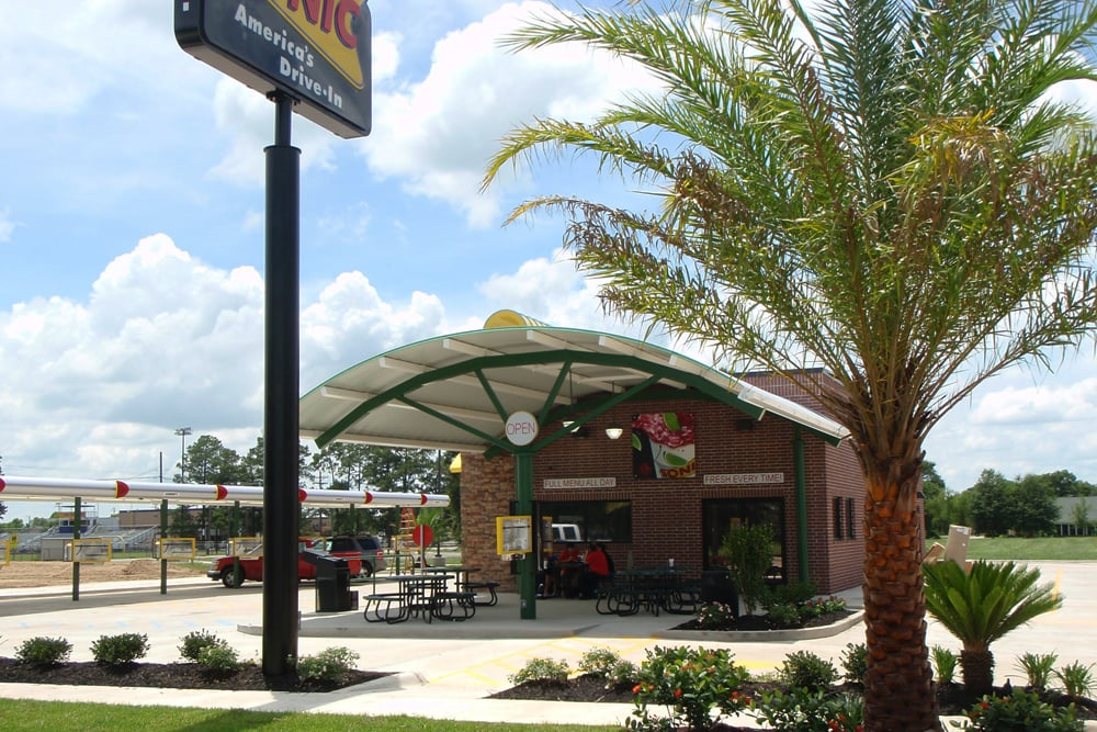 NOW OPEN!! - Sonic Drive-In partners with Wilkus Architects and local franchisee to open their newest location in Iowa, LA.
