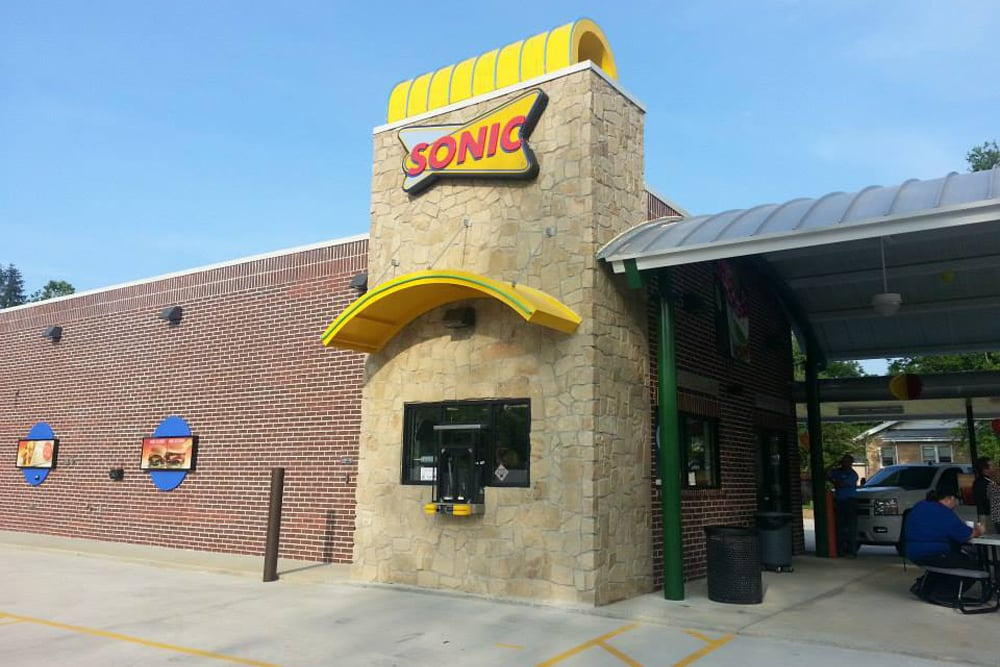 NOW OPEN!! - Sonic Drive-In officially launched their new prototypical design in Jamestown, TN on June 24th, 2013.