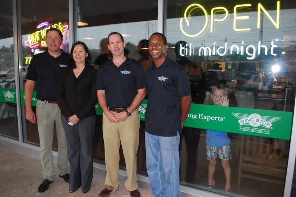 NOW OPEN!! - Wingstop officially opens it's fifth Atlanta-area restaurant at 5065 Buford Highway in Doraville, GA.