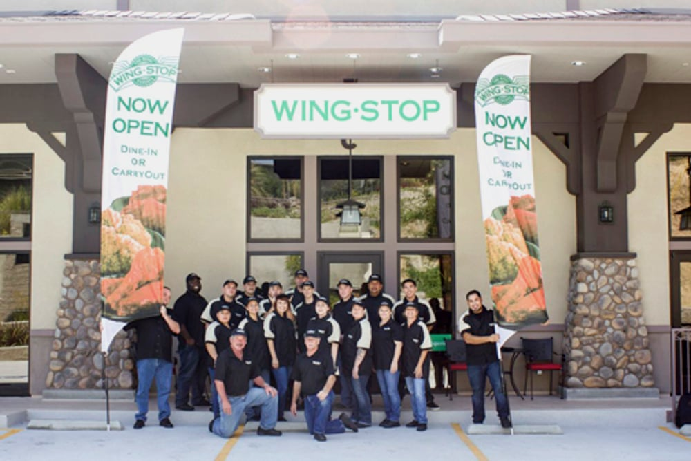NOW OPEN!! - Wingstop Restaurants and local brand partner Jerry Uebel officially announced the opening of their newest restaurant location at 1975 Verdugo Boulevard in La Canada Flintridge, just a few feet outside of Montrose, CA.