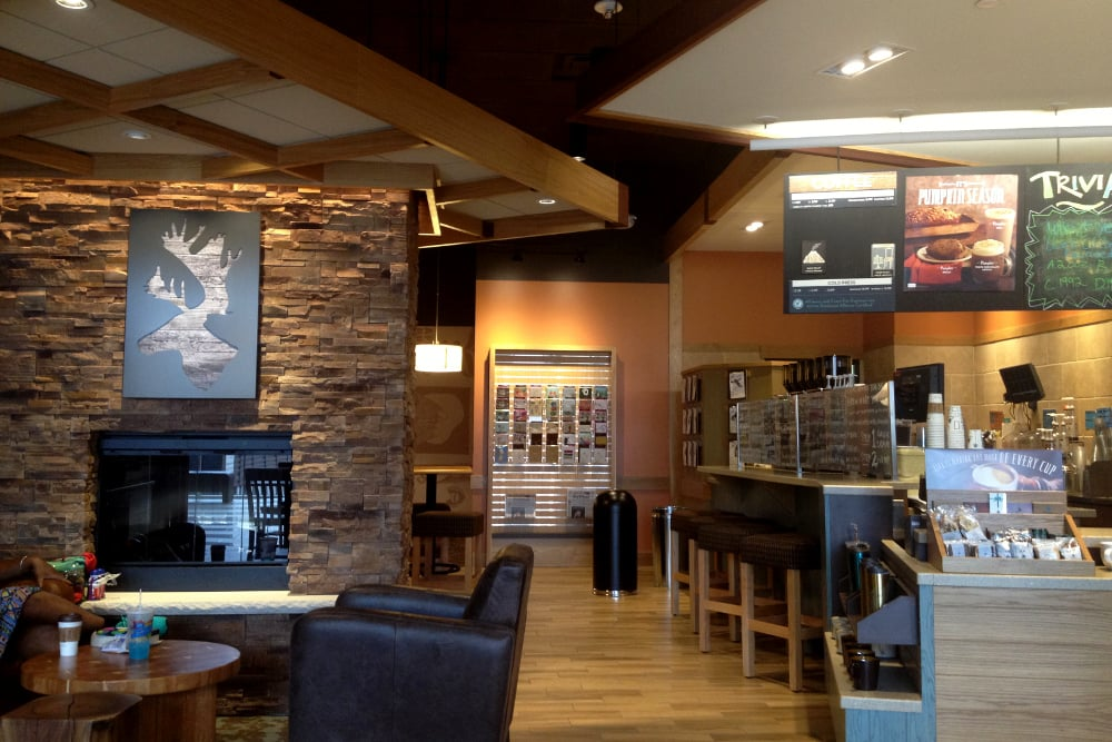 NOW OPEN!! - Caribou Coffee has officially opened their newest location inside Bloomington, Minnesota's own Mall of America.