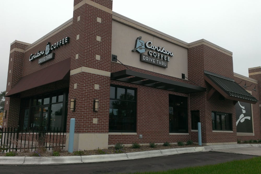 NOW OPEN!! - Caribou Coffee officially announced the opening of their newest coffeehouse location in Anoka, Minnesota.